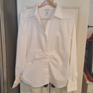 Banana Republic Stretch Classic Career Blouse